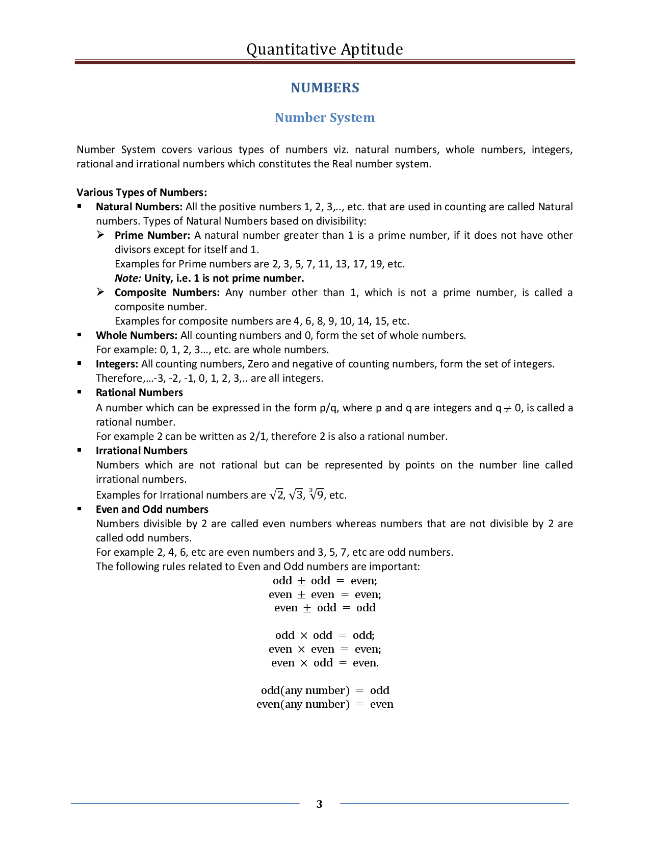 Quantitative Aptitude Formula ebook - Page 3
