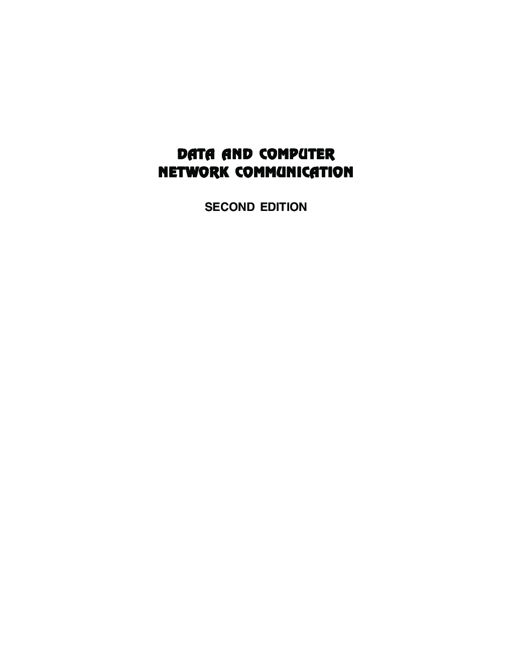 Data And Computer Network Communication - Page 2
