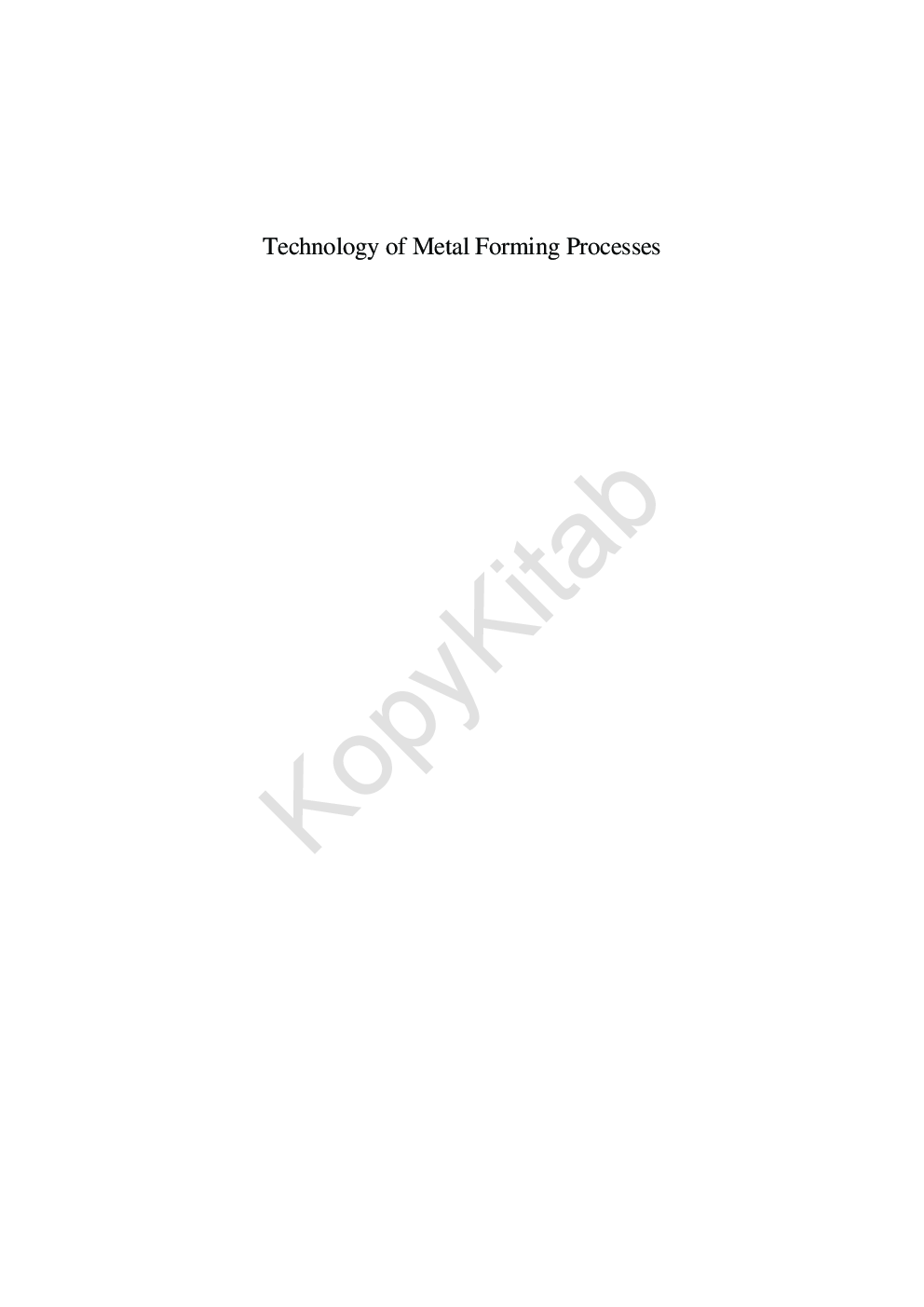Technology of metal forming processes by surender kumar pdf get this ebook snapshot description fandeluxe Image collections