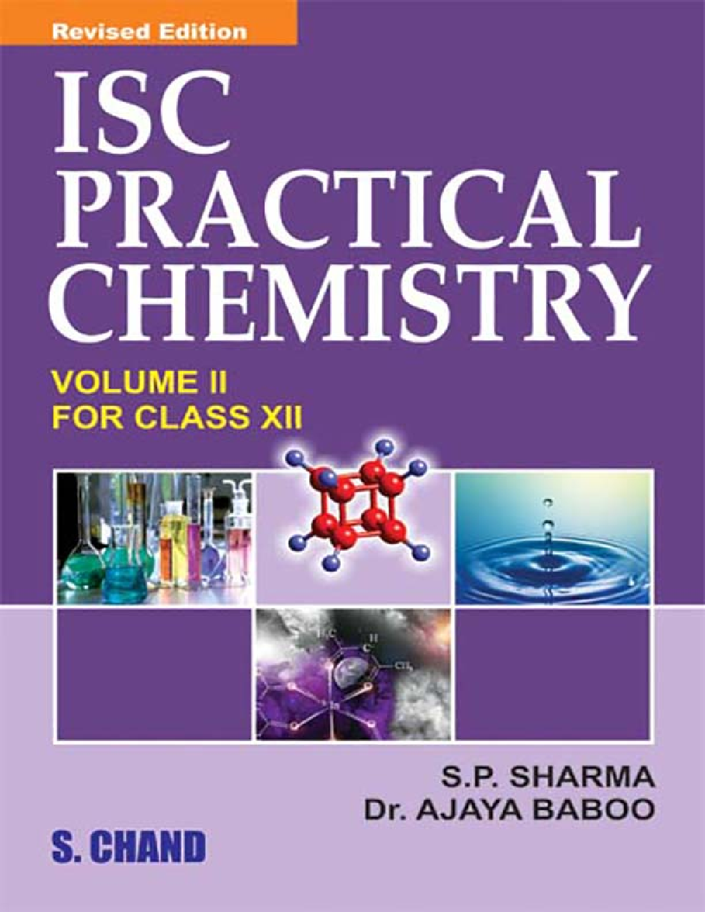 ISC Practical Chemistry Volume 2 For Class XII - Page 1
