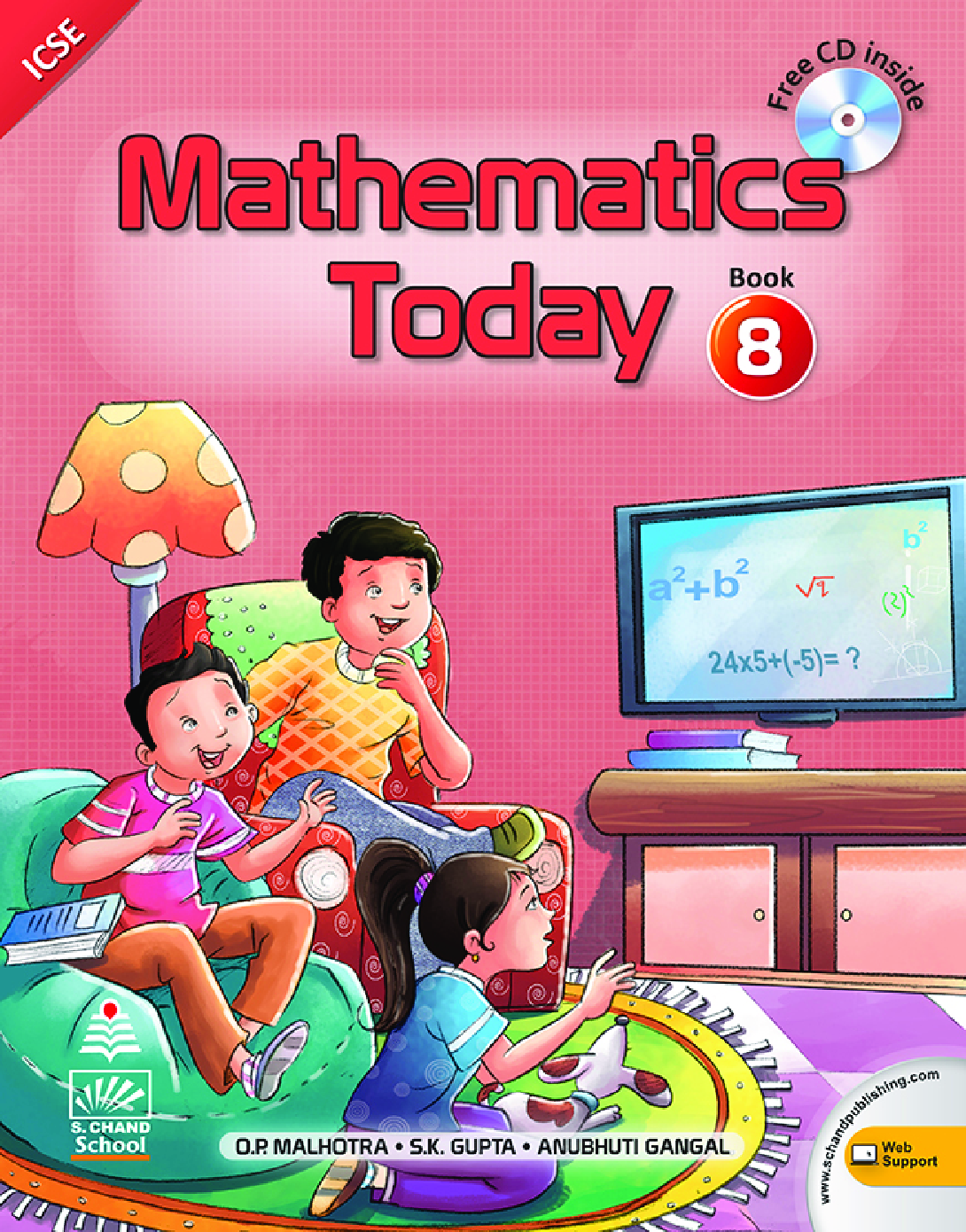Mathematics Today For Class 8 - Page 1