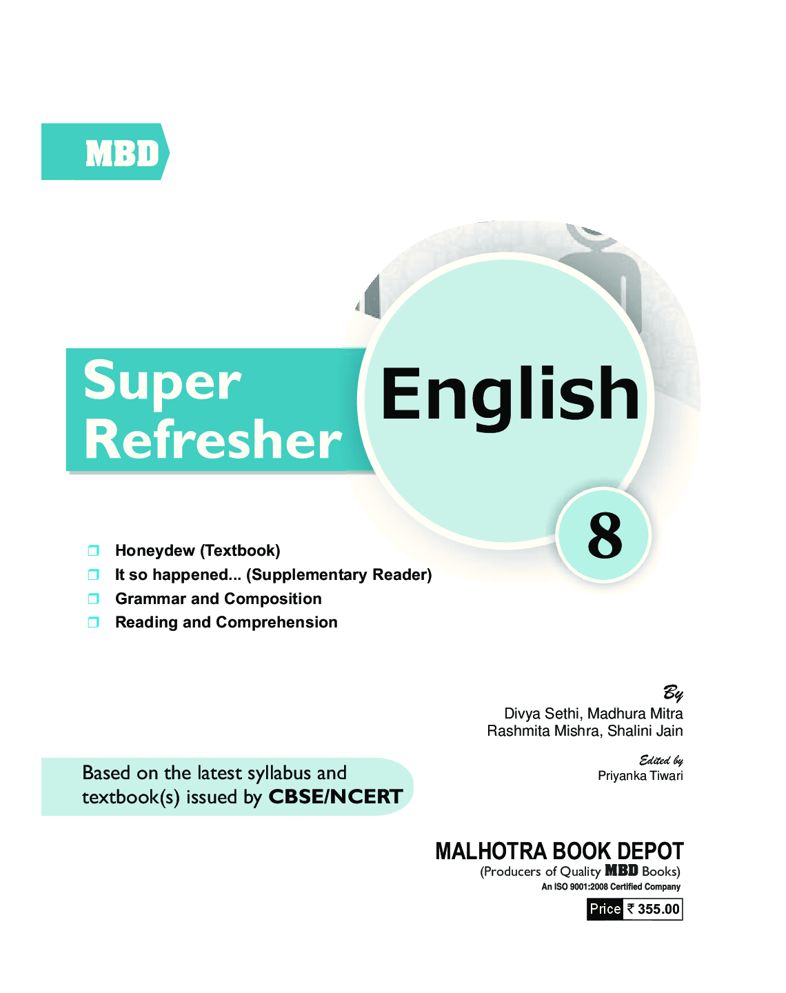 Download MBD Super Refresher English Class-VIII CBSE /NCERT by Divya ...