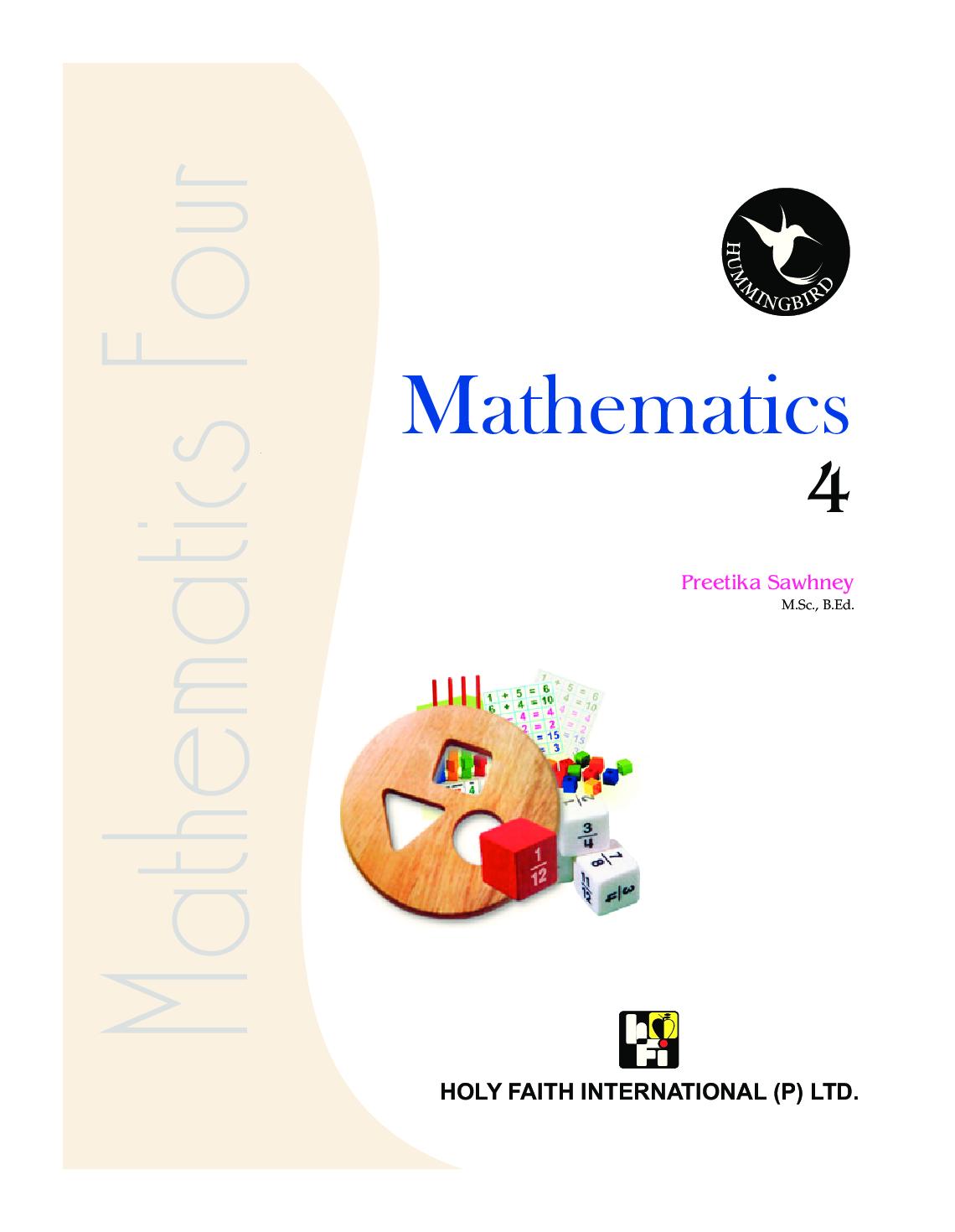 Humming Bird Mathematics-4    - Page 2