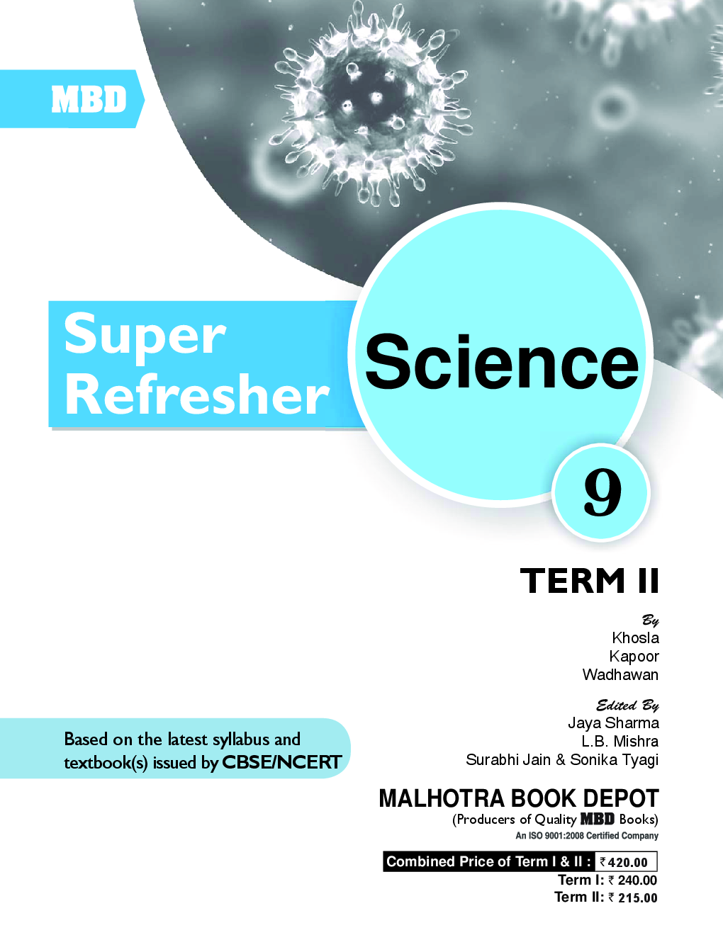 Download MBD Super Refresher Science Class-IX Term-II CBSE /NCERT by ...