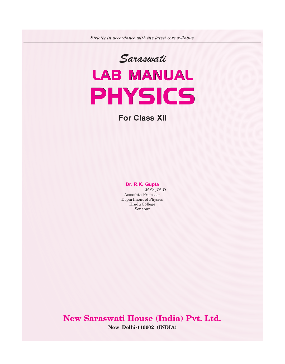 laboratory solution manual physics ebook