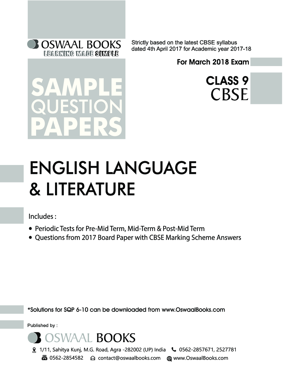 Download oswaal cbse sample question papers class ix english experience in web reader malvernweather Images