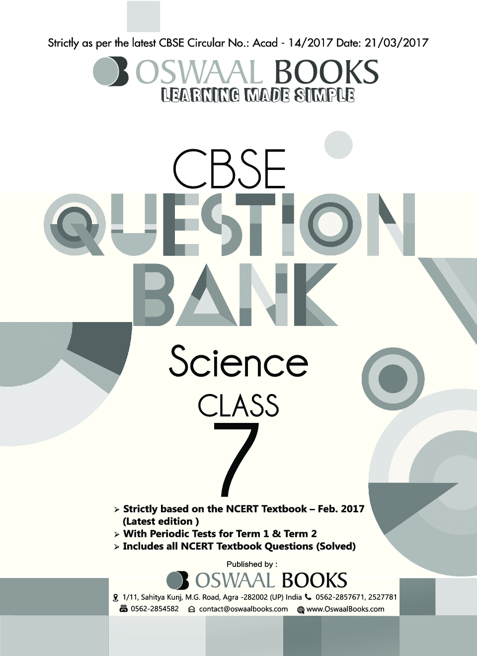Oswaal cbse question banks science for class vii march 2018 exam oswaal cbse question banks science for class vii march 2018 exam by panel of experts fandeluxe Images