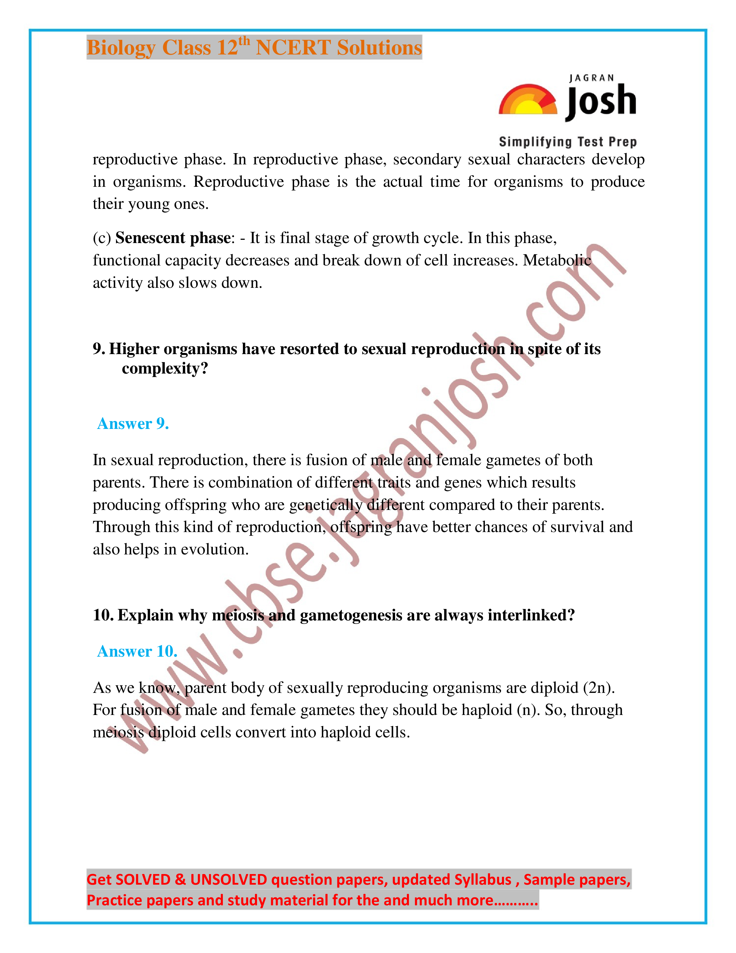 Ncert xii biology chapterwise solutions ebook array ncert biology solution for class xii by jagran josh pdf download rh kopykitab com fandeluxe Choice Image