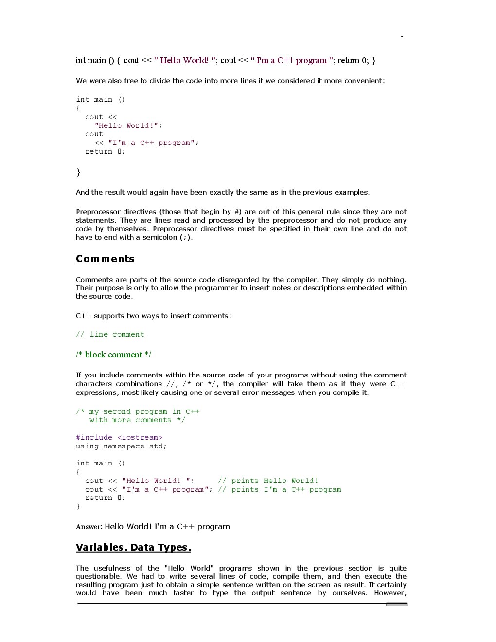VTU eNotes On History Of C++ For Computer Science Engineering - Page 5