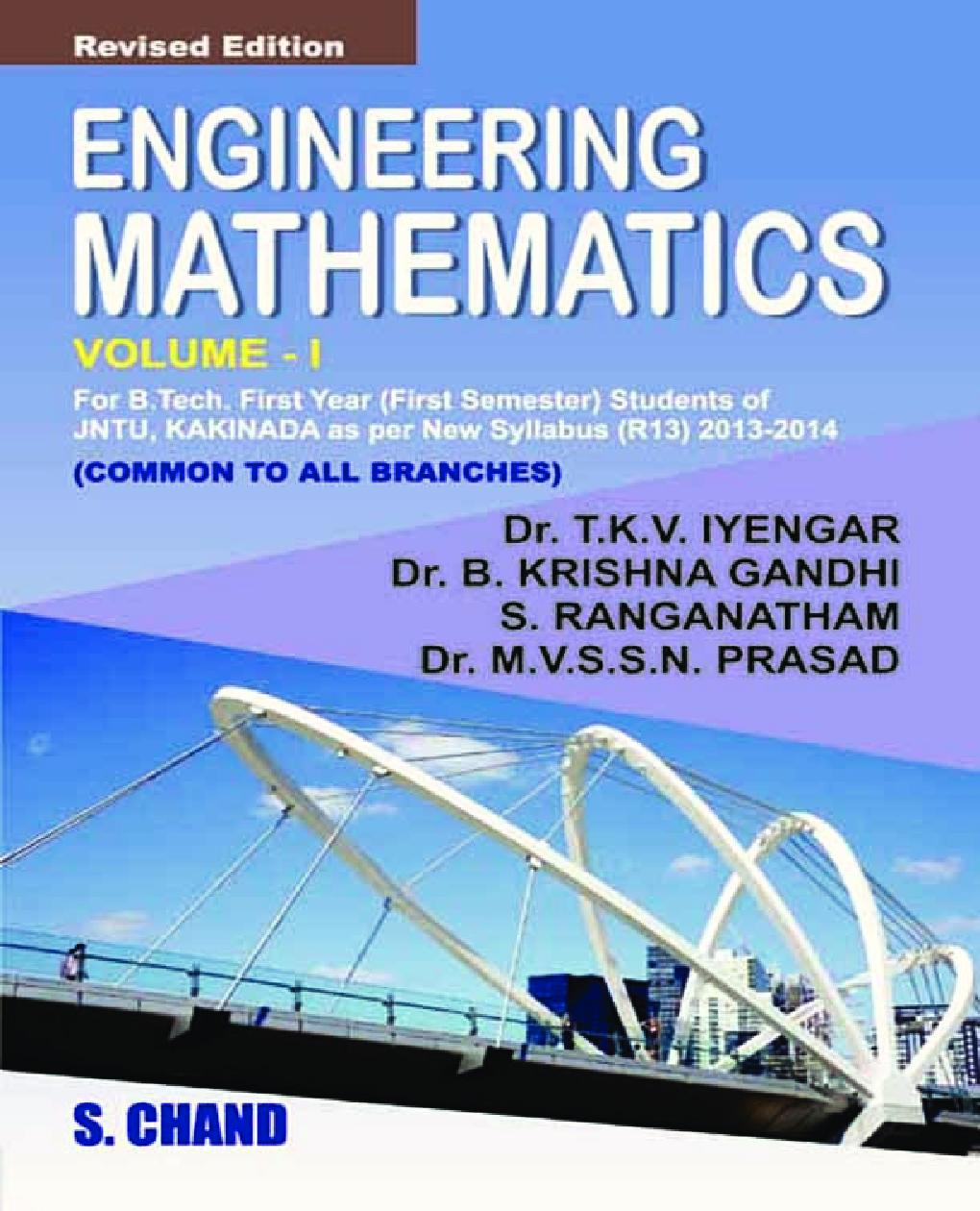 Engineering Mathematics – I - Page 1