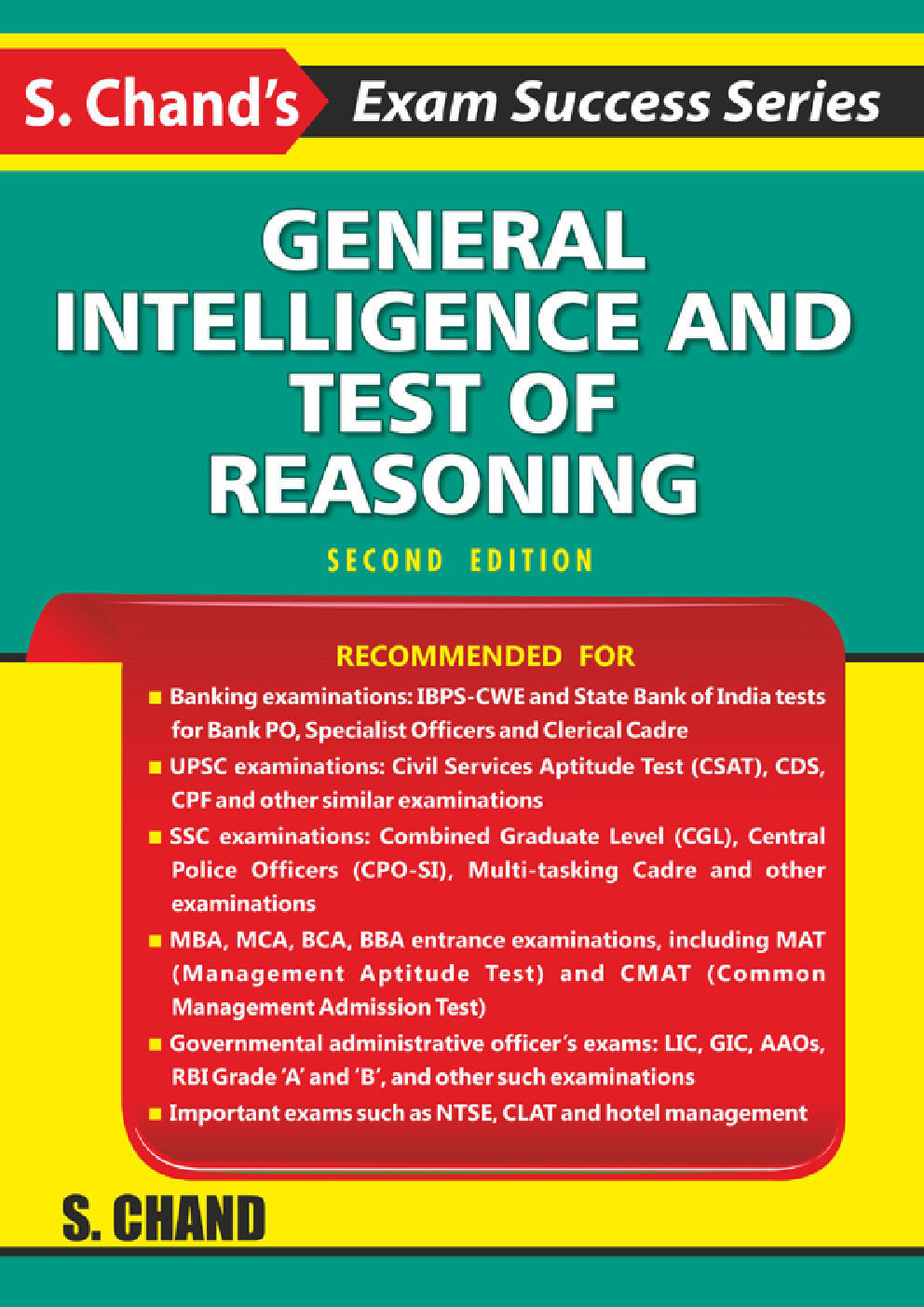 General Intelligence And Test Of Reasoning - Page 1