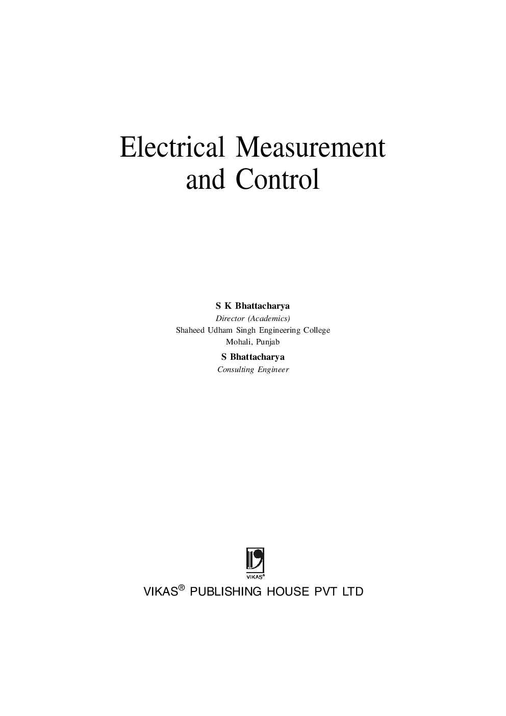 Electrical Measurement And Control (WBSCTE) - Page 4