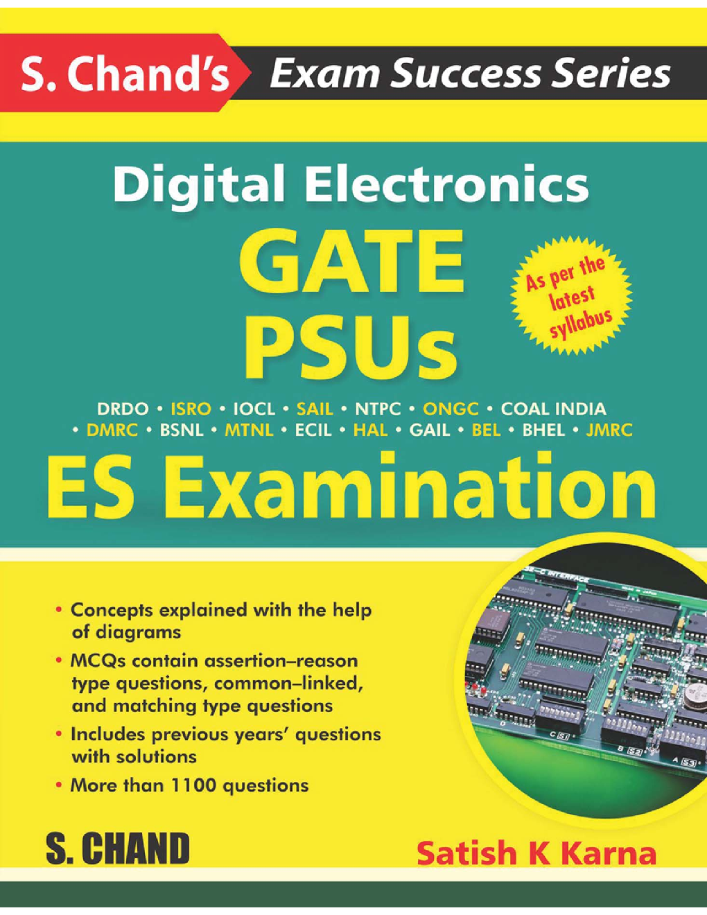 Digital Electronics - GATE, PSUS And ES Examination - Page 1