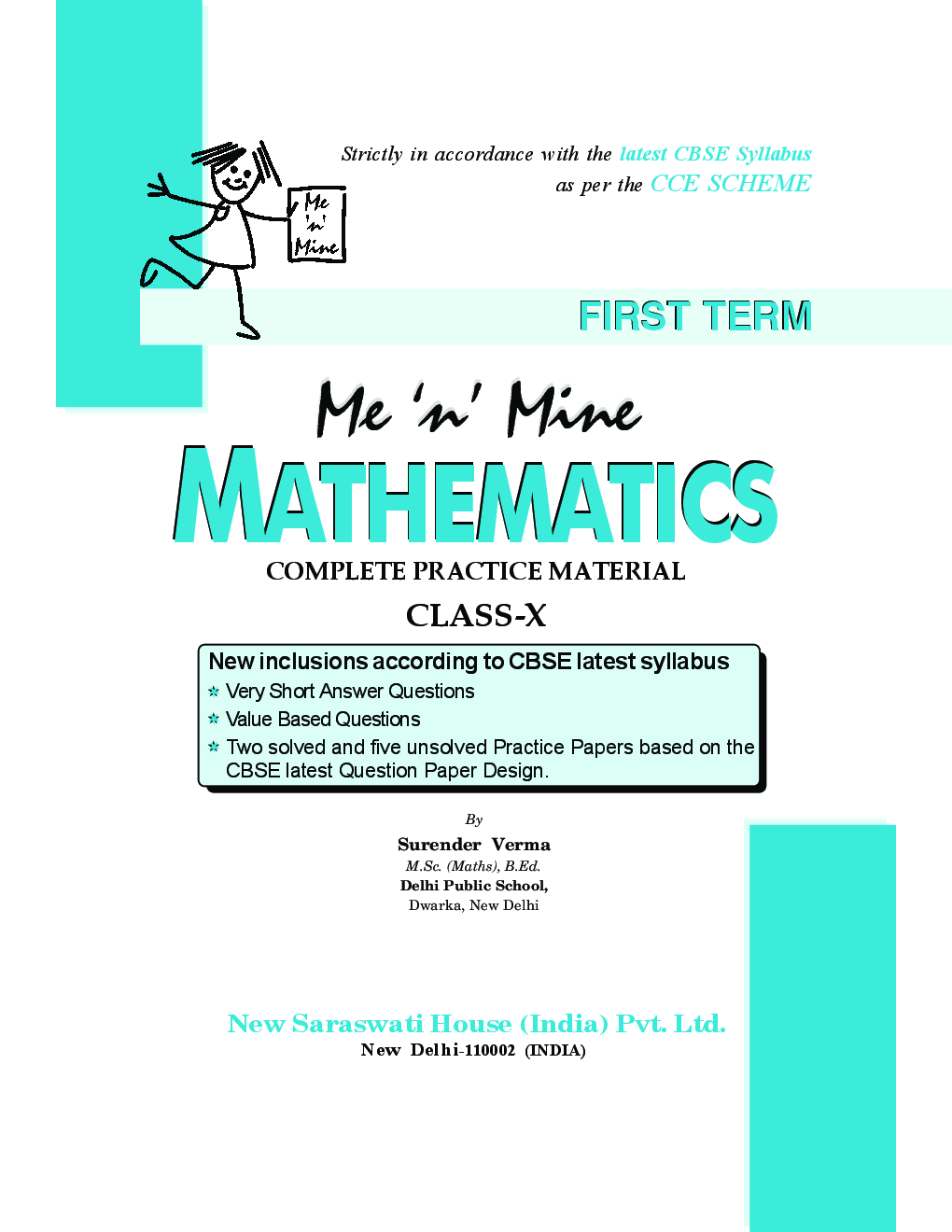 Download Me N Mine Mathematics First Term For Class-X CBSE by ...