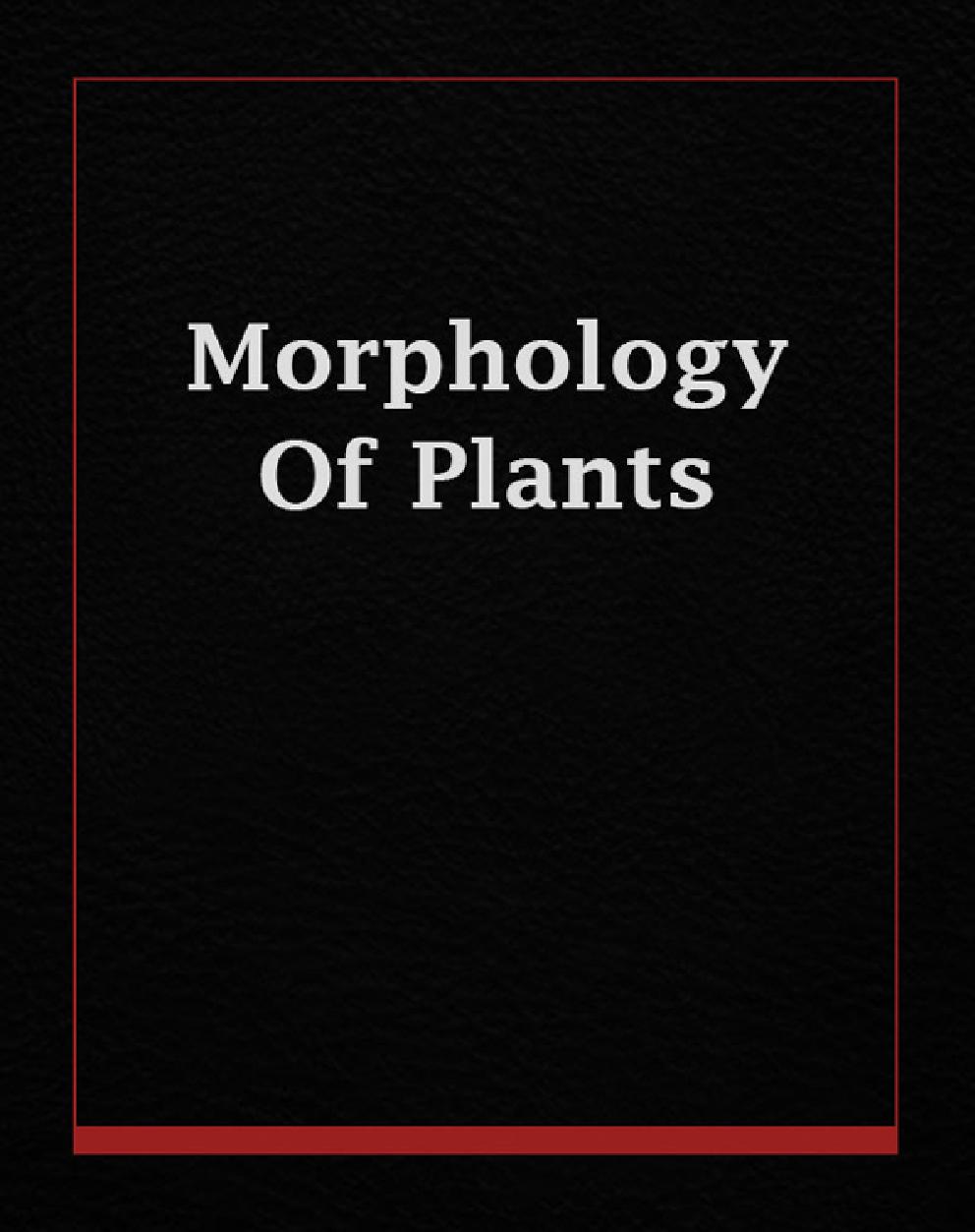 Morphology Of Plants - Page 1