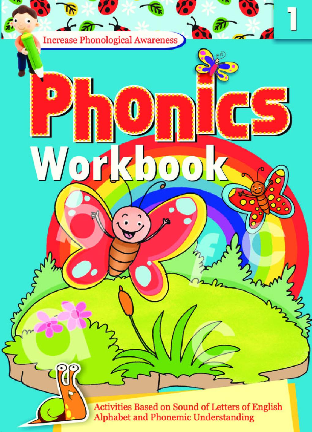 Phonics Workbook - 1 - Page 1
