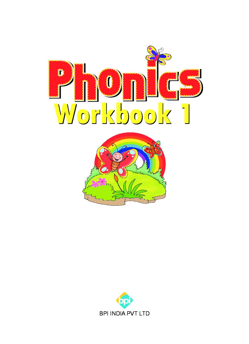 Phonics Workbook - 1 - Page 2