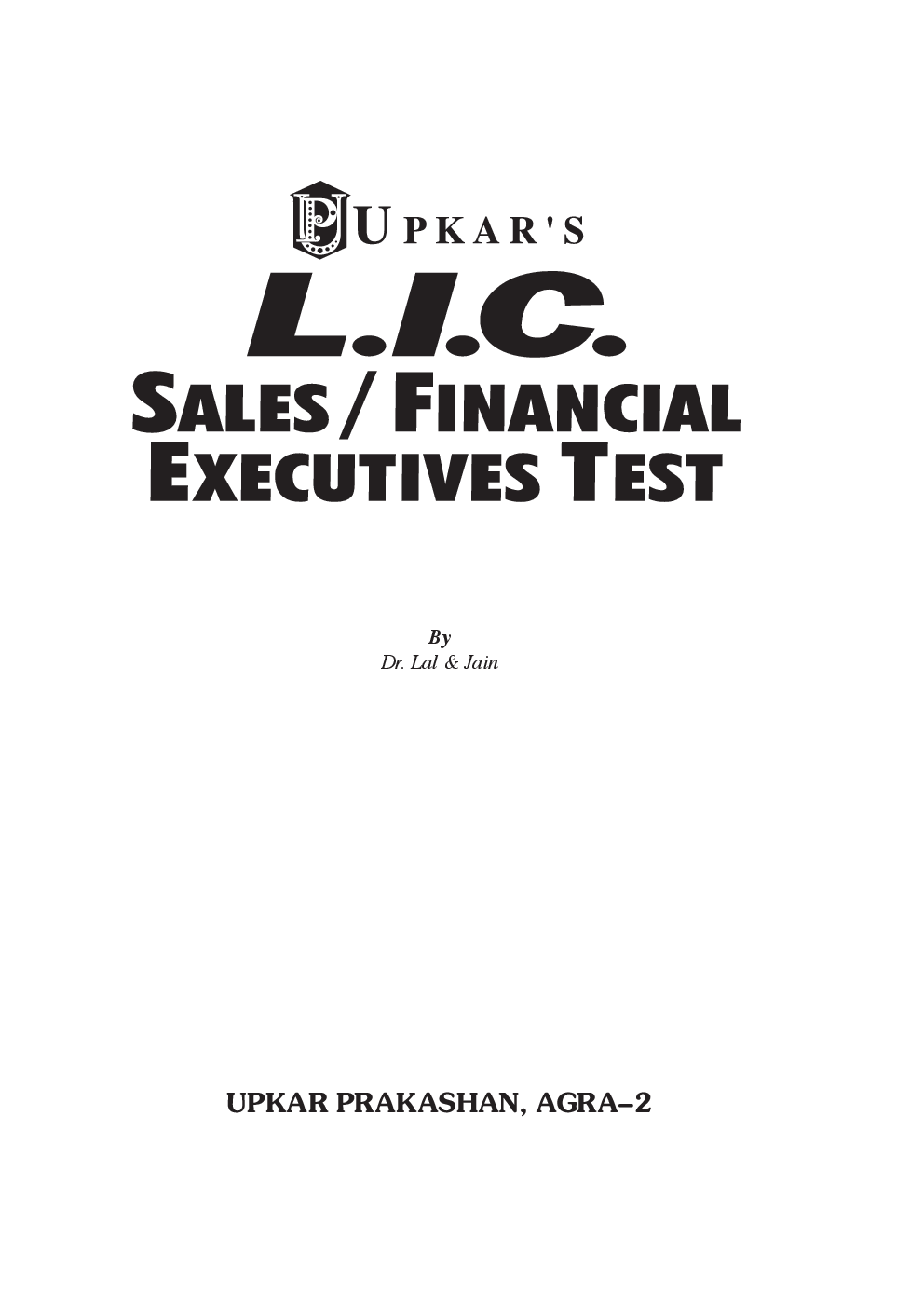 LIC Sales/Financial Executive Test - Page 2