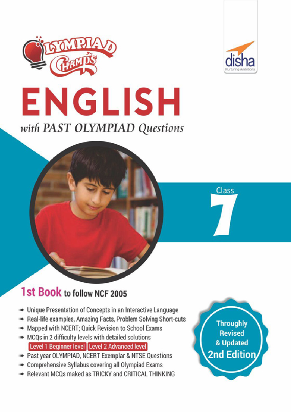 Olympiad Champs English Class 7 With Past Olympiad Questions - Page 1