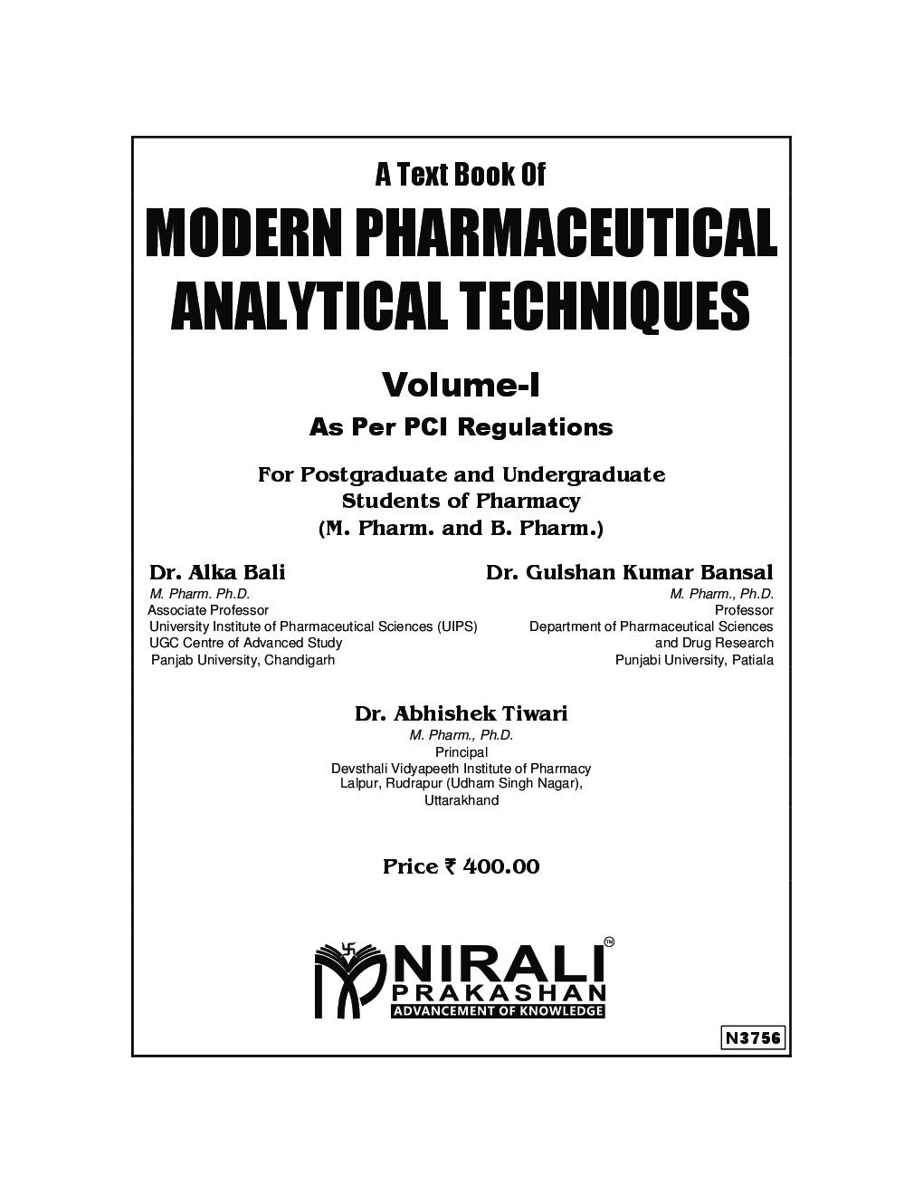 Free modern ebook download pharmaceutics