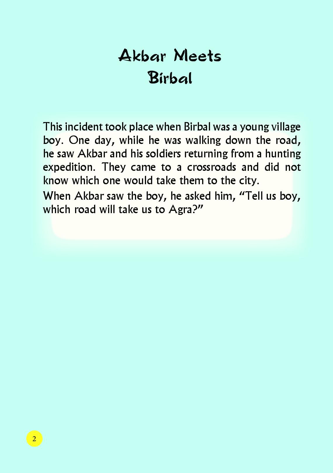 My First Big Book Of Akbar Birbal - Page 3