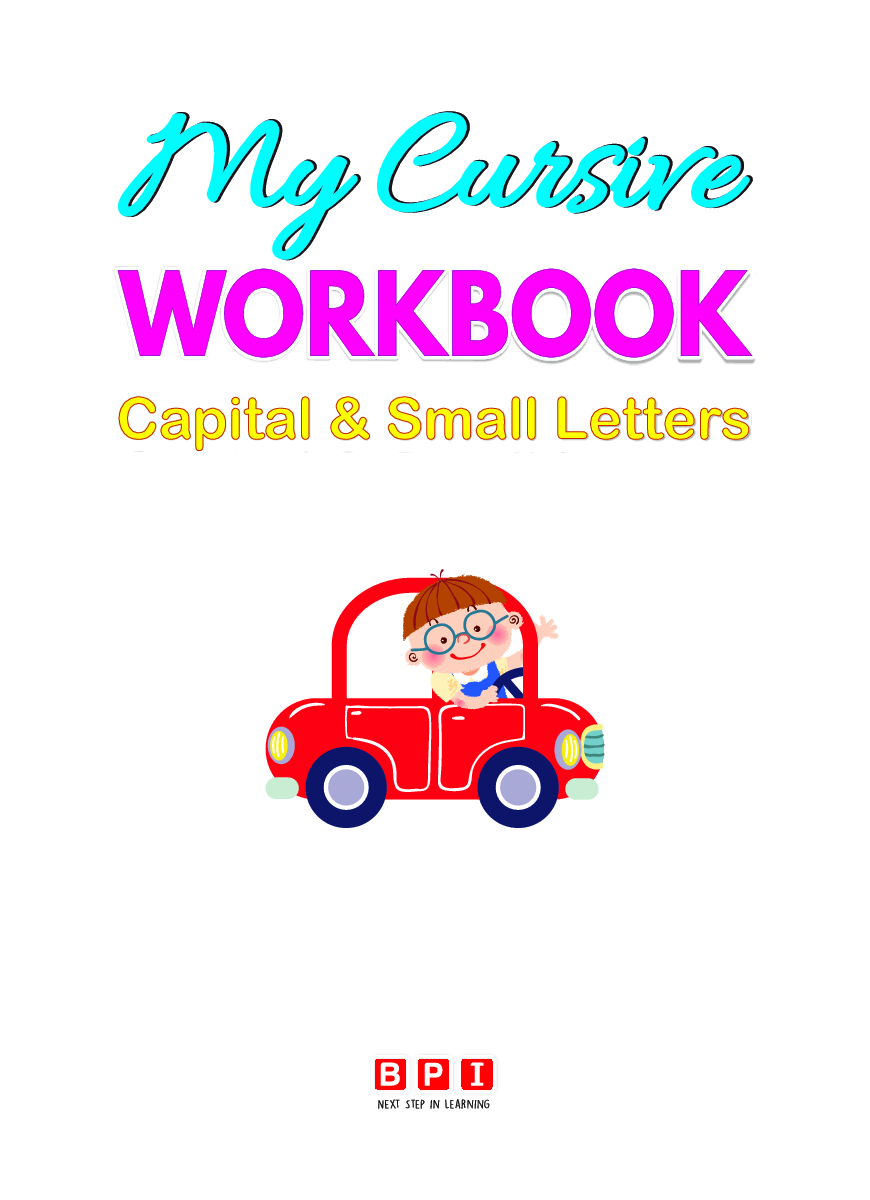 Download My Cursive Workbook Capital & Small Letters by ...