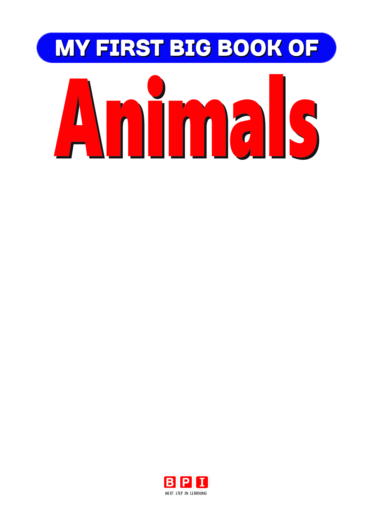 My First Big Book Of Animals - Page 2