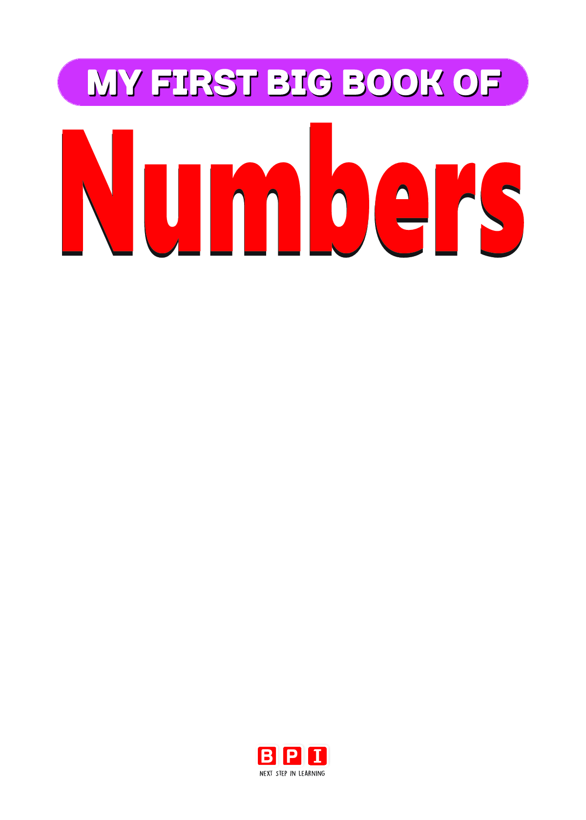 My First Big Book Of Numbers - Page 2