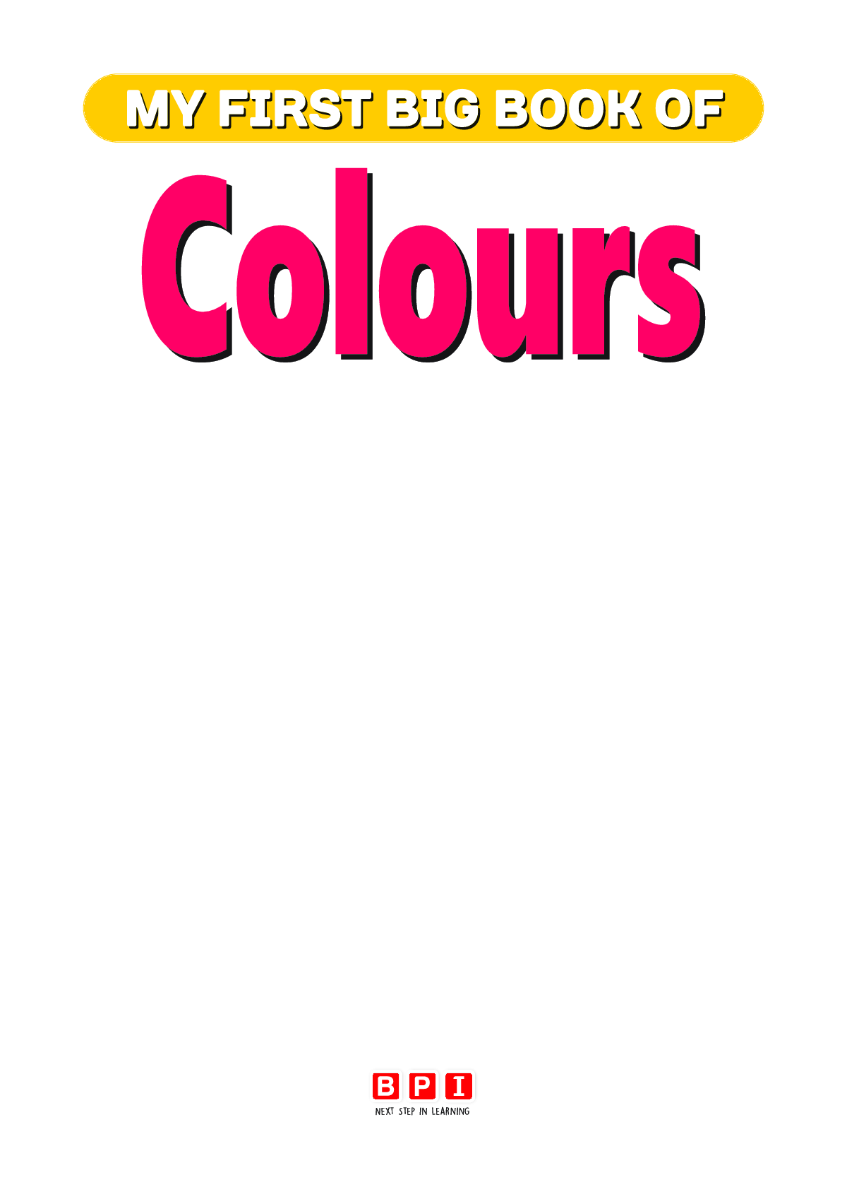 My First Big Book Of Colours - Page 2