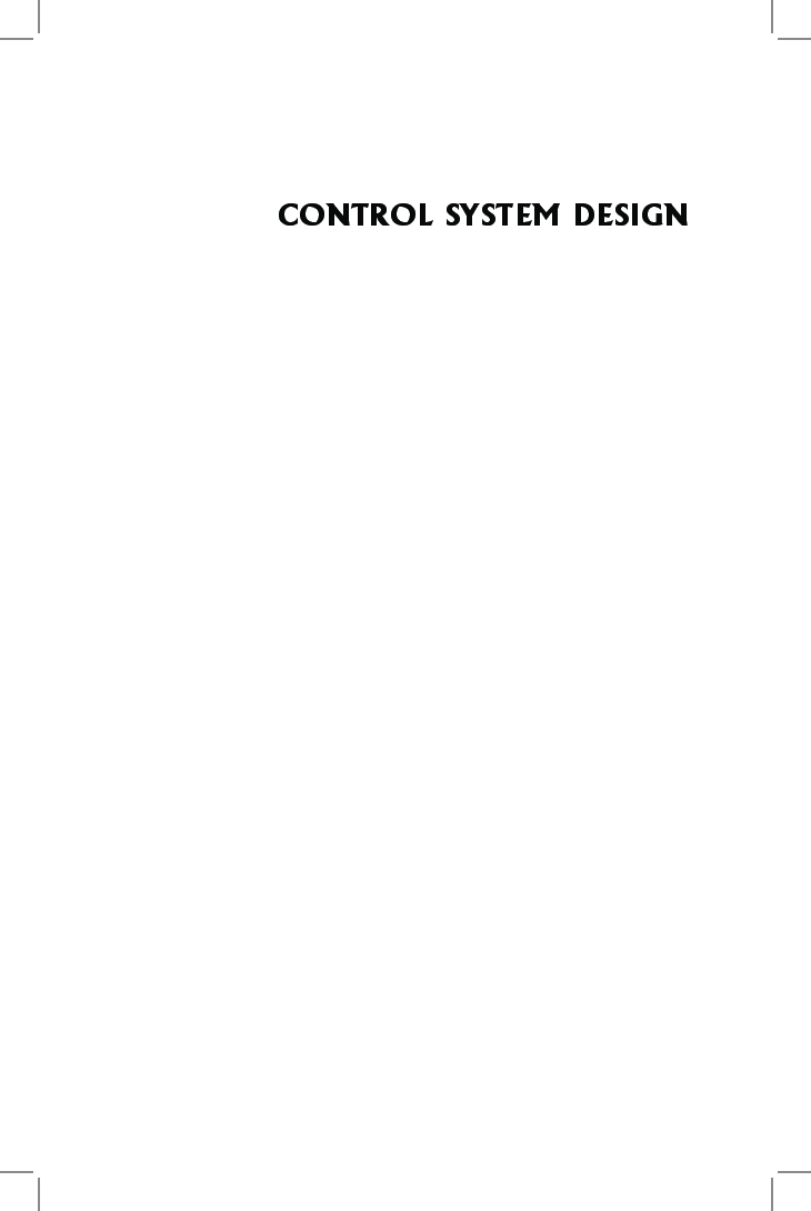 Control System Design - Page 2