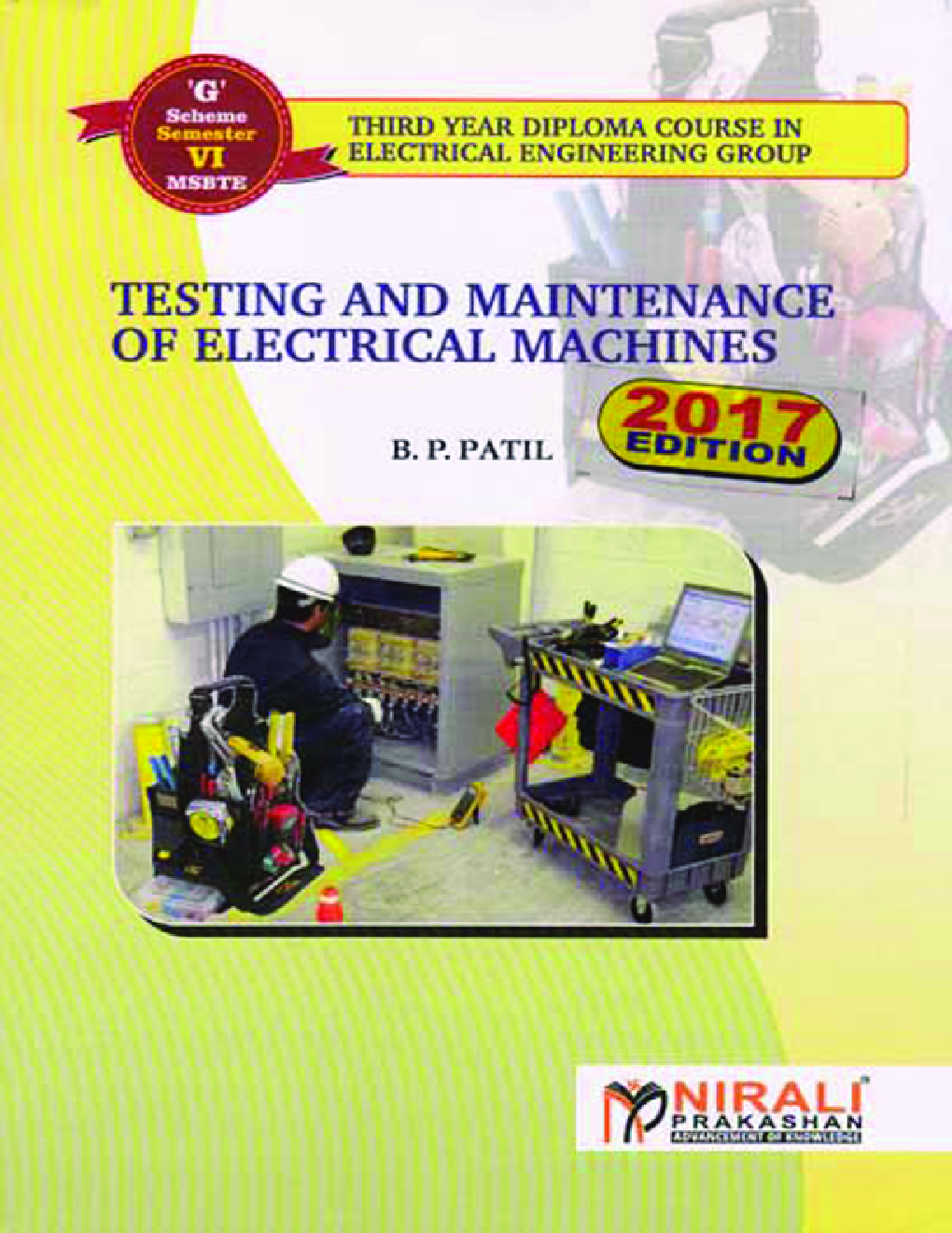 Testing And Maintenance Of Electrical Machines - Page 1