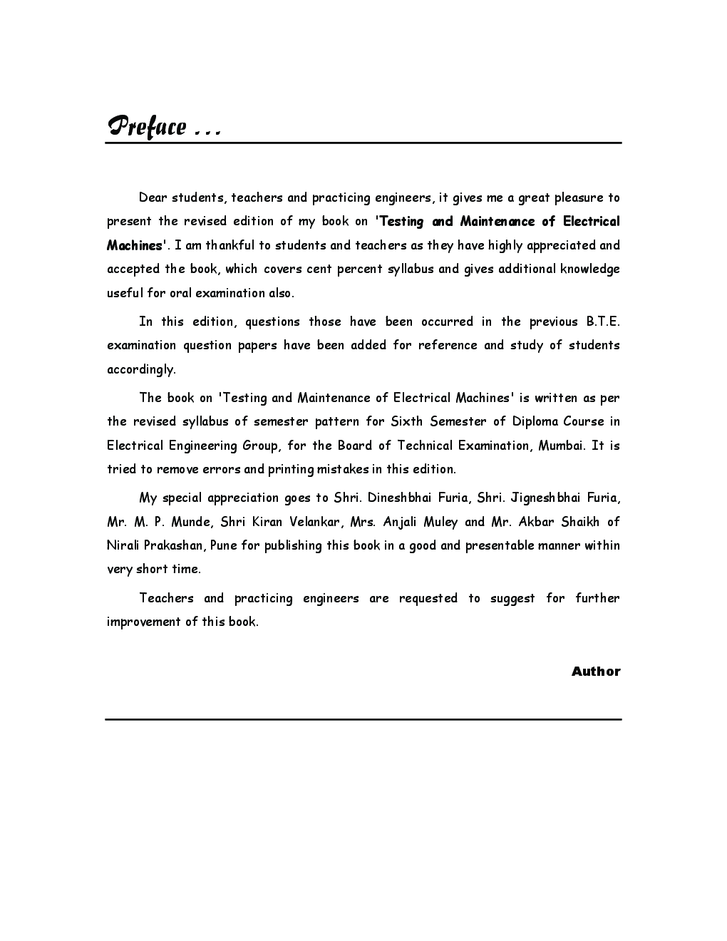 Testing And Maintenance Of Electrical Machines - Page 4