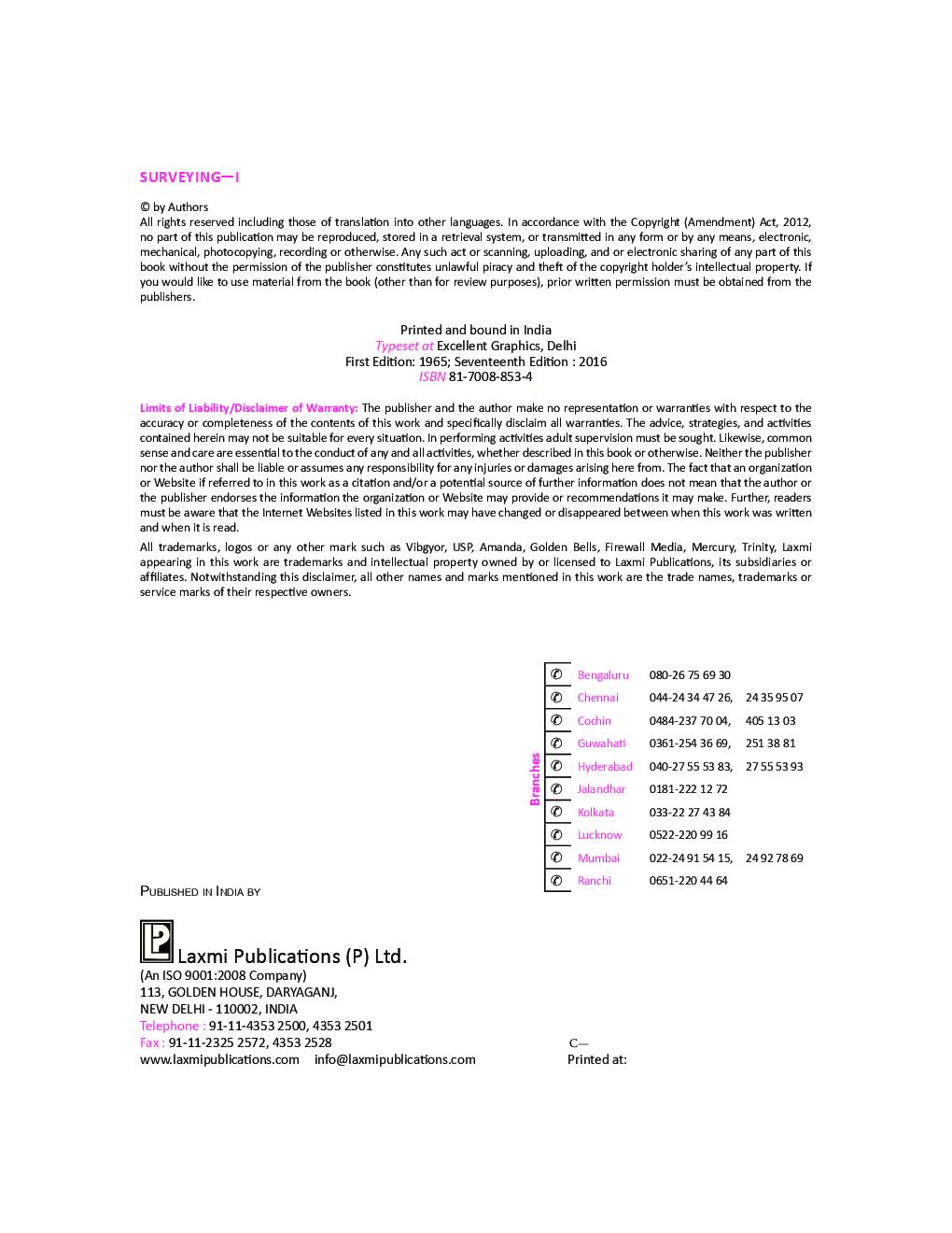 Surveying Vol. 1 - Page 5