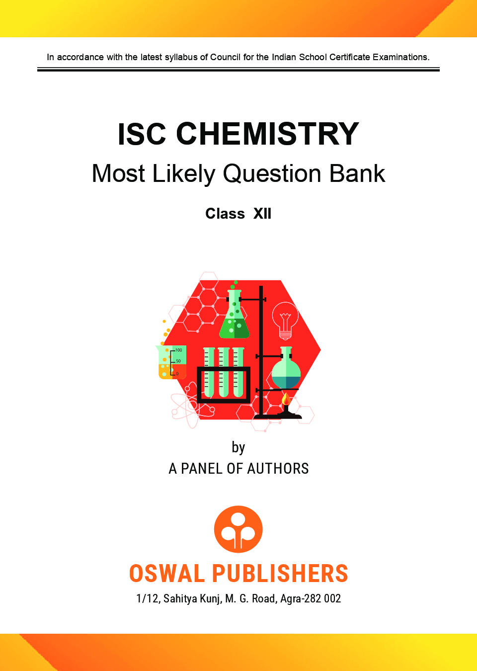 Oswal ISC Most Likely Question Bank Category & Chapterwise For Class XII Chemistry (For 2020 Exam) - Page 4
