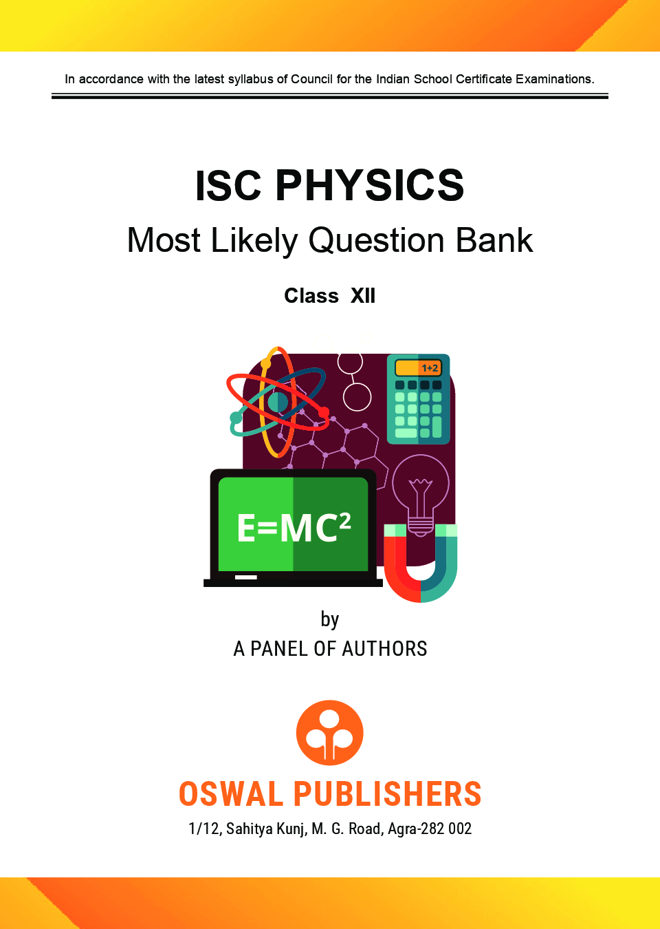 Oswal ISC Most Likely Question Bank Category & Chapterwise For Class XII Physics (For 2020 Exam) - Page 4