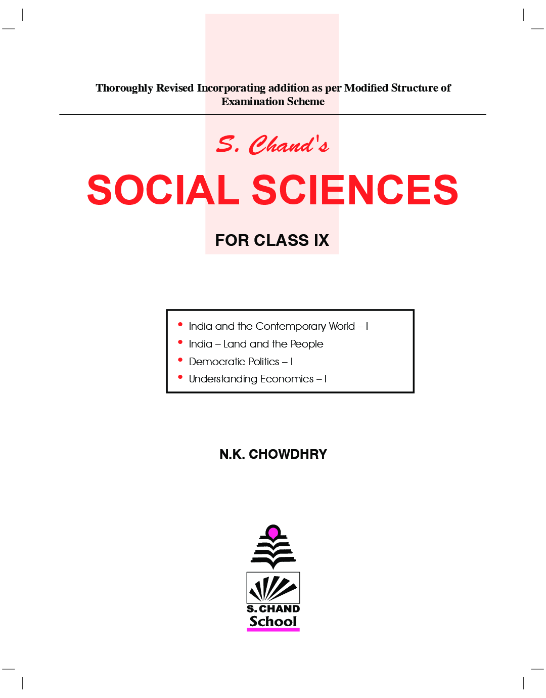 Schand Social Science For Class - IX - Page 2
