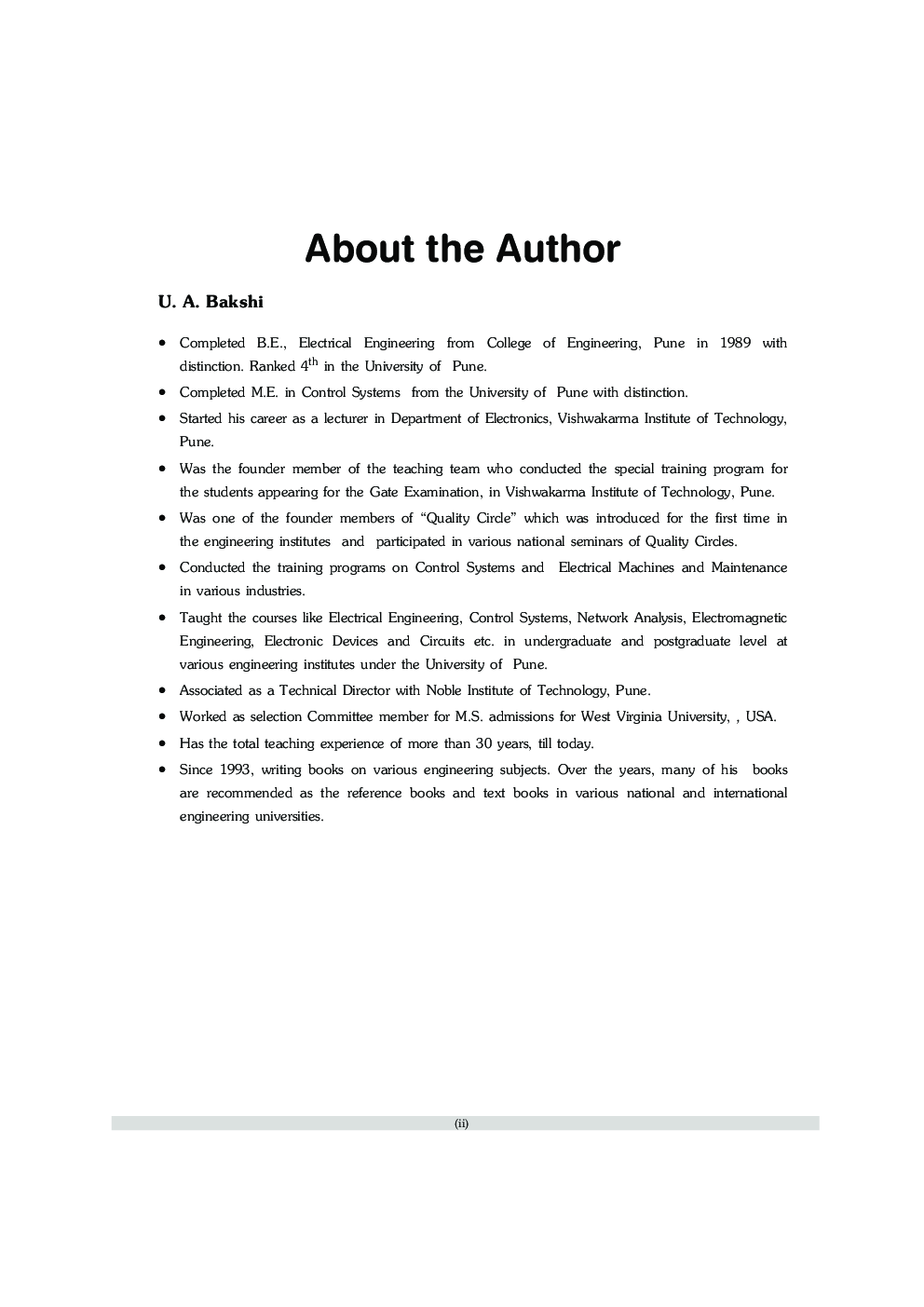 Feedback Control Systems (A Conceptual Approach) - Page 3