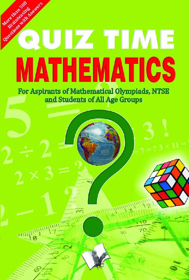 Quiz Time Mathematics - Page 1