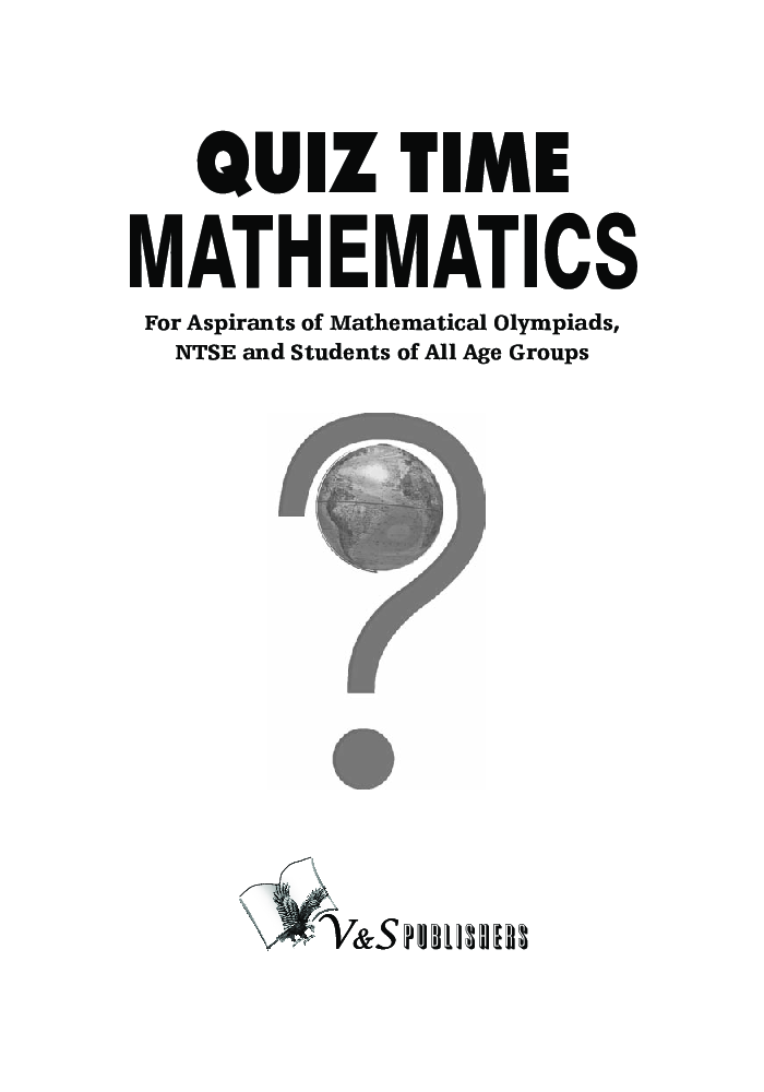 Quiz Time Mathematics - Page 2
