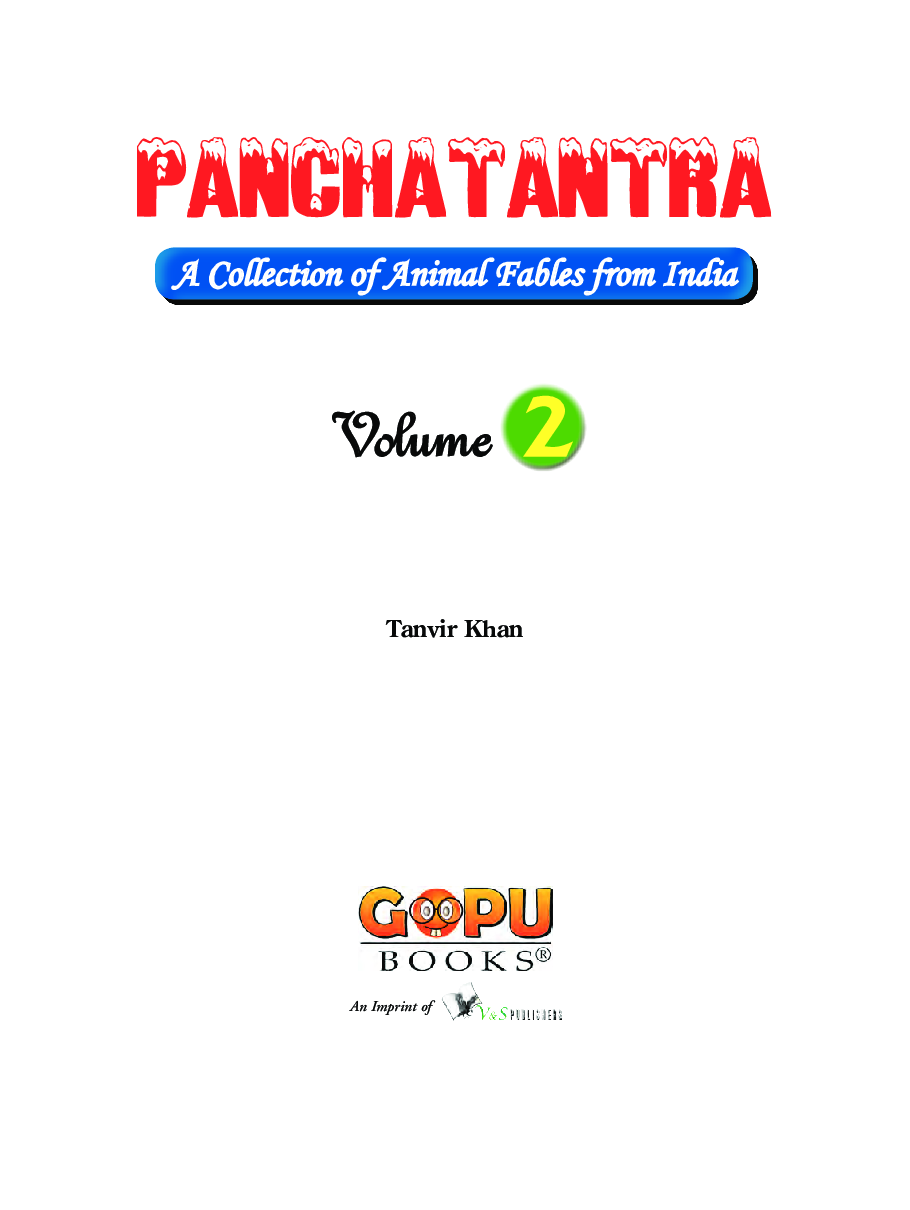 Panchatantra - Volume 2 - Page 2