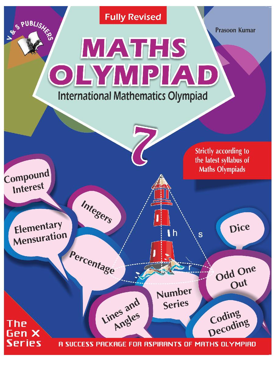 International Mathematics Olympiad For Class 7 - Page 1