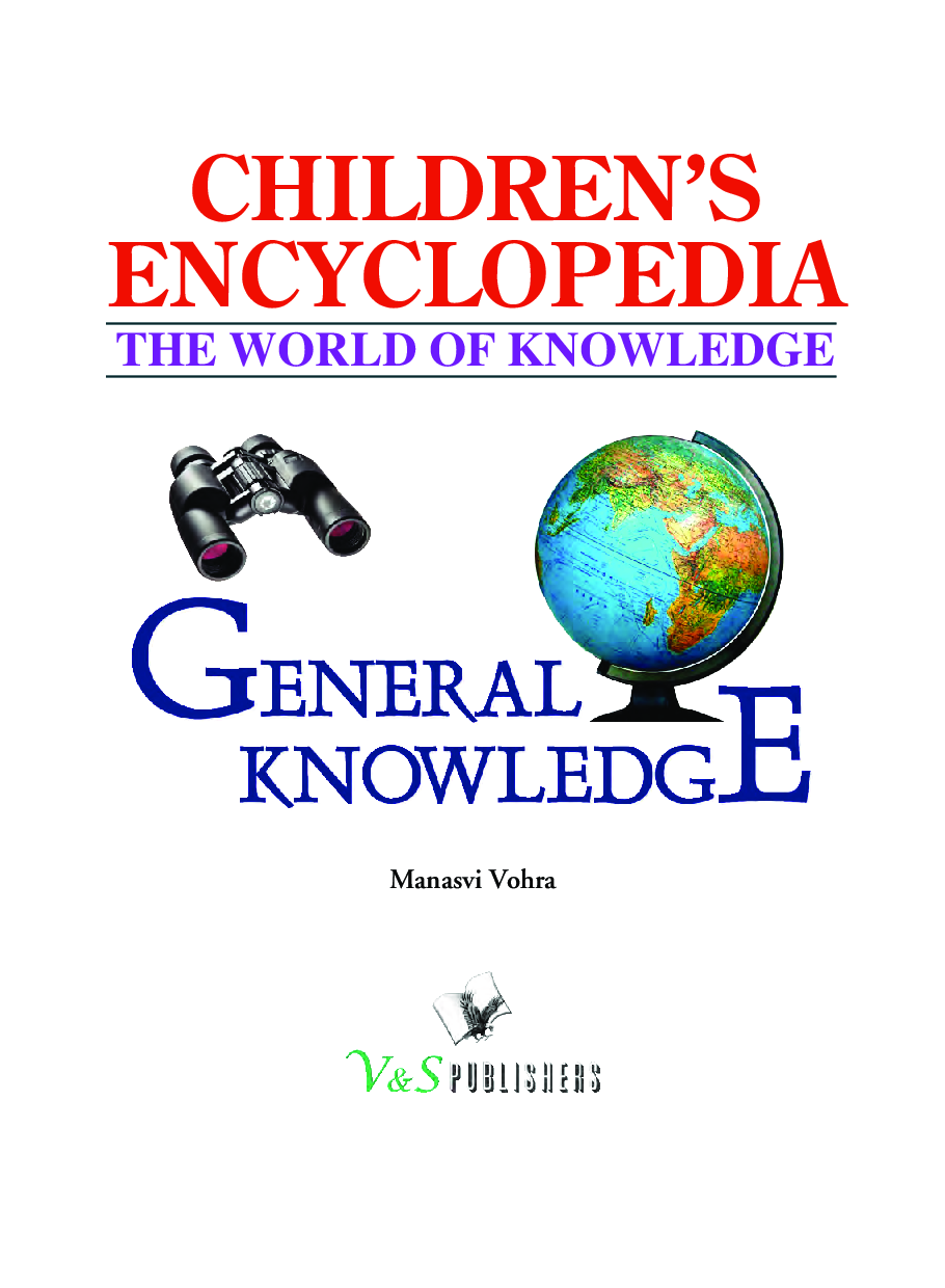 Children\'s Encyclopedia - General Knowledge - Page 2