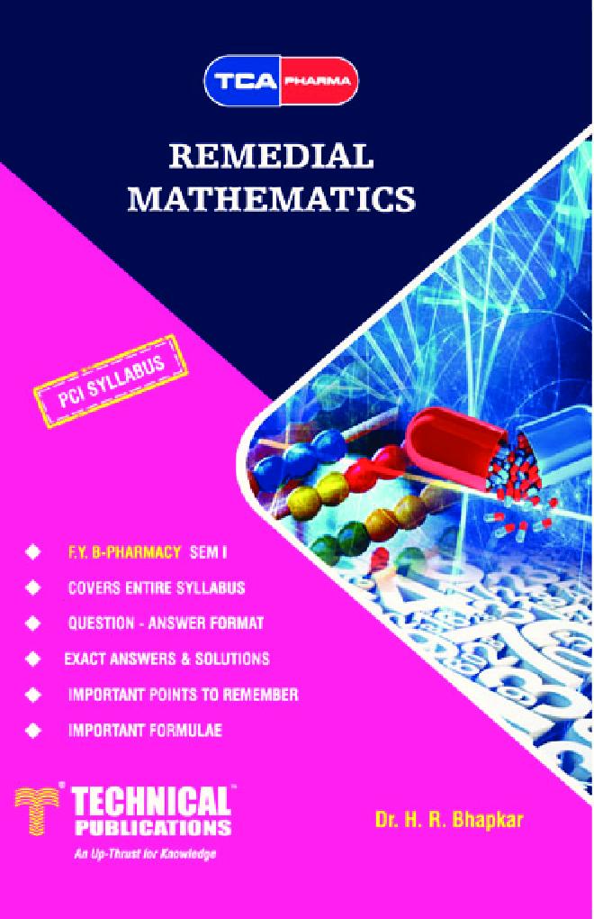 Remedial Mathematics - Page 1