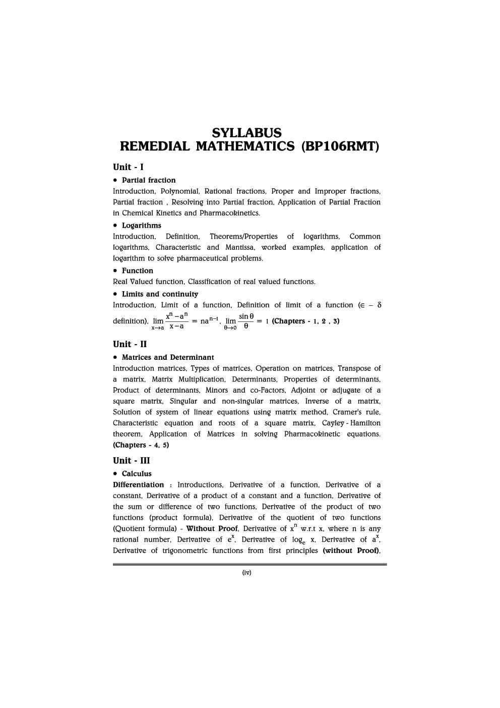 Remedial Mathematics - Page 5