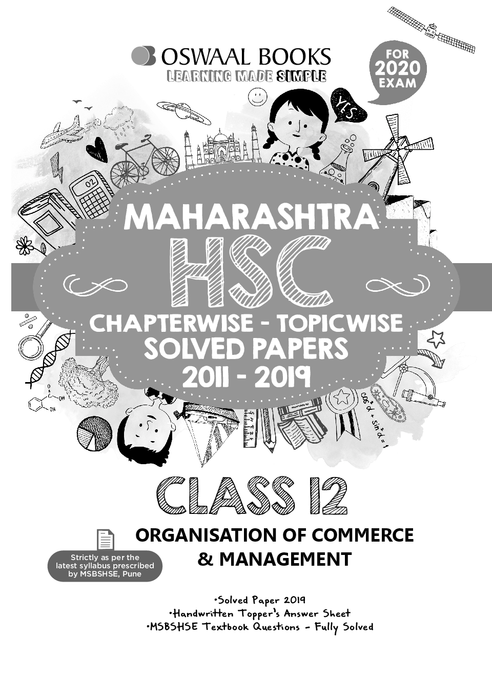 Oswaal Maharashtra HSC Chapterwise & Topicwise Solved Papers For Class - XII Organisation of Commerce & Management (For March 2020 Exam) - Page 2