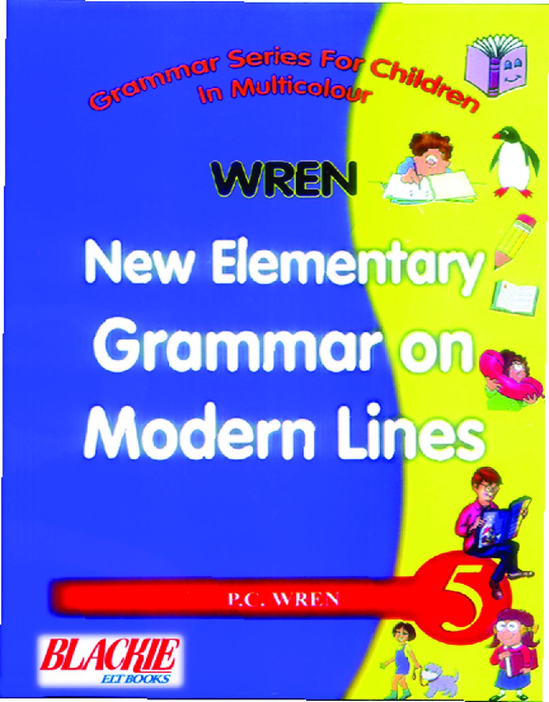 Wren New Elementary Grammar On Modern Lines 5 - Page 1