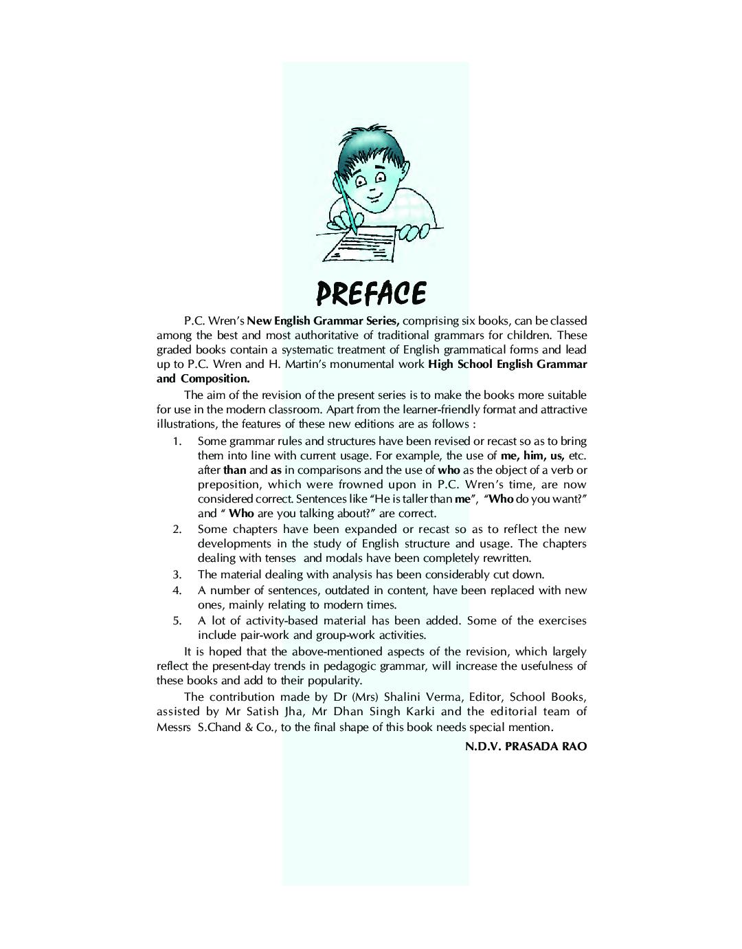 Wren New Elementary Grammar On Modern Lines 5 - Page 4