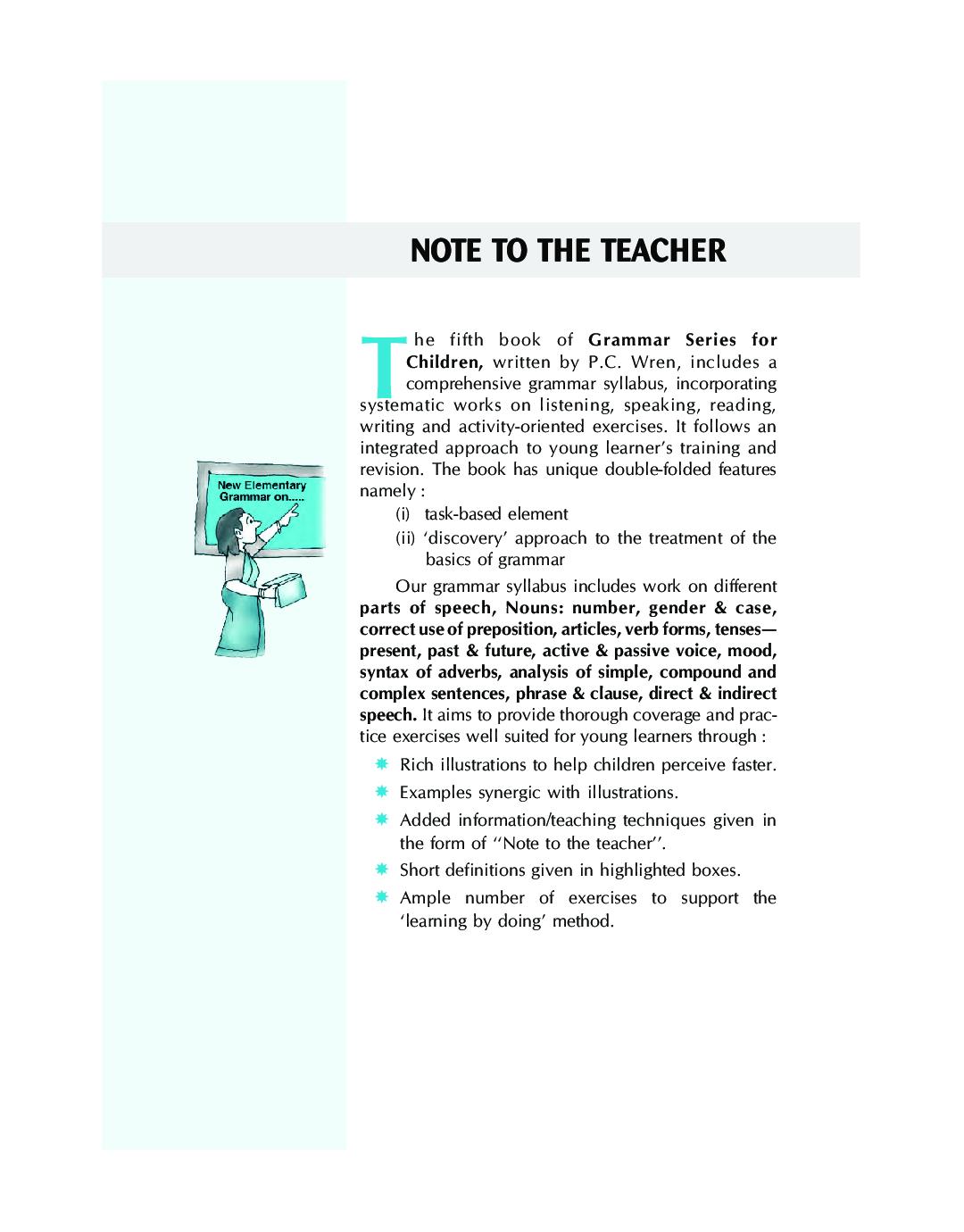 Wren New Elementary Grammar On Modern Lines 5 - Page 5