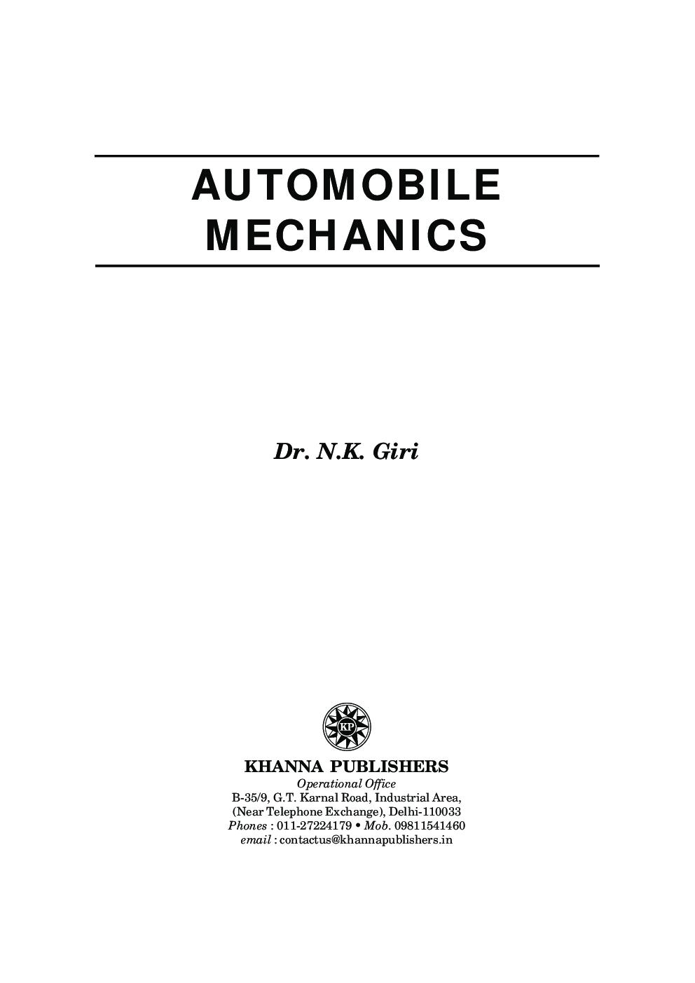 Automobile Mechanics - Page 2