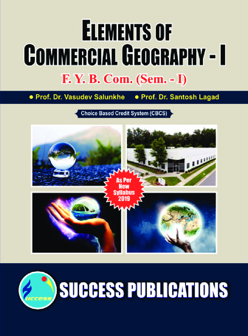 Elements Of Commercial Geography - I - Page 1
